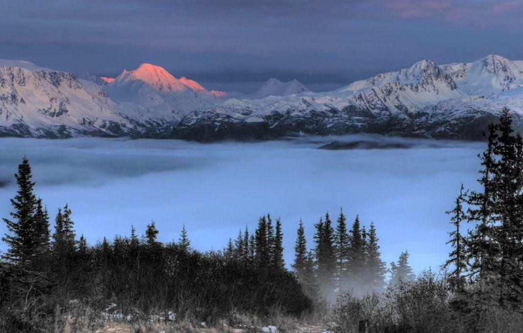 Pegunungan Terpopuler di Amerika Utara